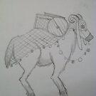 Desert Goat? - Concept Sketch by Aubrey Dunn