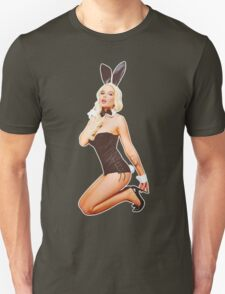 Bunny Hotness - White Glow T-Shirt