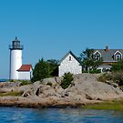 Annisquam Light Trio - Gloucester, Massachusetts by Steve Borichevsky