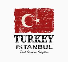 Turkey Flag - Vintage Look T-Shirt
