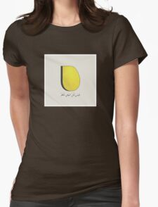 Not All Of The Egg Is Regular (Arabic) Womens Fitted T-Shirt