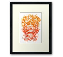 The Protectress Framed Print