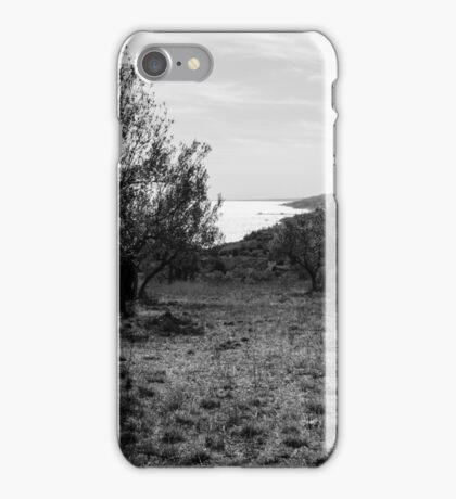 Diamond Sea - Italian landscape  iPhone Case/Skin