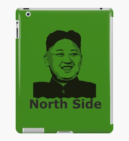 North Korea - North Side iPad Case/Skin
