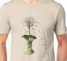 Forbidden Fruit Core - Tree-Shirt Unisex T-Shirt