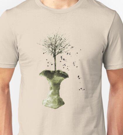 Forbidden Fruit Core - Tree-Shirt Unisex T-Shirt