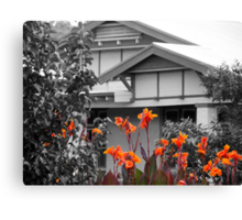 A little garden colour Canvas Print