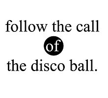 the disco ball Photographic Print
