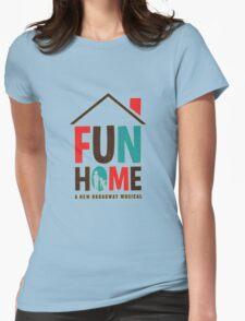 Fun  Logo Womens Fitted T-Shirt