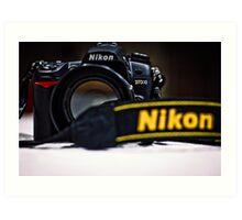 Nikon D7000 Art Print