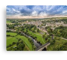 Richmond North Yorkshire Aerial Photo Canvas Print