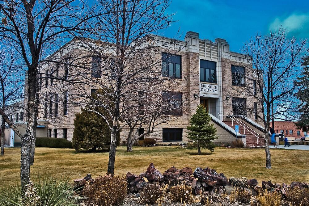Big Horn County (Montana) Court House by Bryan D. Spellman
