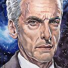 The Doctor (Peter Capaldi) by marksatchwillart