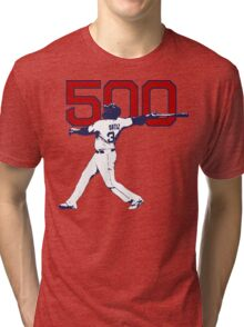 500 - David Ortiz Tri-blend T-Shirt