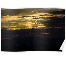 Flagstaff Sunset Poster
