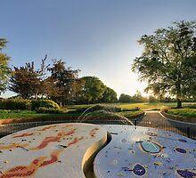 A new fountain for Vivary Park by Andy Bateman