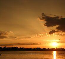 Nebraska Sunset by Ilene Hames