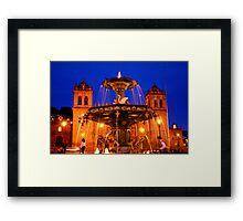 Plaza de Armas, Cusco Framed Print
