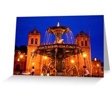 Plaza de Armas, Cusco Greeting Card