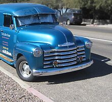 Old restored Chevy Van by DAdeSimone