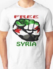 FREE SYRIA T-Shirt T-Shirt