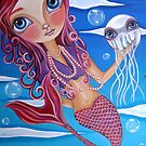 """A Jellyfish Friend"" by Jaz Higgins"