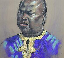 Sudanese Male by Mick Kupresanin