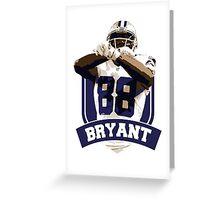 Dez Bryant - Dallas Cowboys Greeting Card