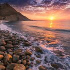 Dawn on the coast of Spain by Ralph Goldsmith