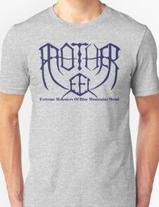Mother Eel Symmetry Logo Blue Unisex T-Shirt