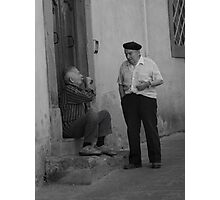 peoplescapes #254, the sip  Photographic Print