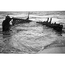 Rusty Ribs. Photographic Print