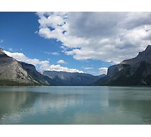 Lake Minnewanka,  Alberta Photographic Print