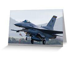 F16 - Takeoff Greeting Card