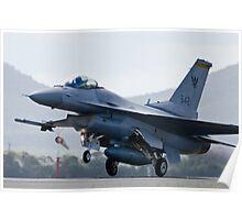 F16 - Takeoff Poster