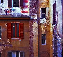 Room with aview - Rome by Ian Fegent
