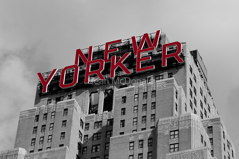 The New Yorker by Sean McDonald