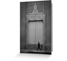 Greenwich Substation New York City Greeting Card