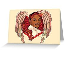 Cupid Falcon Greeting Card