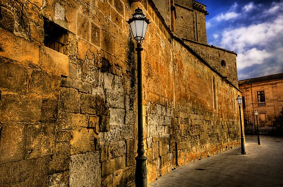 A lamp unto my feet, and a light unto my path. by Luke Griffin