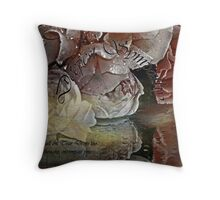"""""""Deepest Sympathy ..."""" Throw Pillow"""
