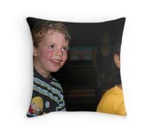 Kids at play Throw Pillow