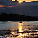 Fishing at the End of the Day by bazcelt