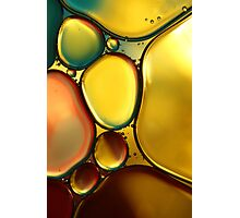 Oil & Water Abstract II Photographic Print