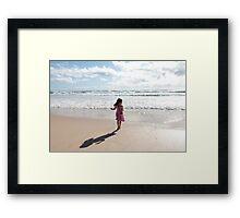 The Little Photographer Framed Print
