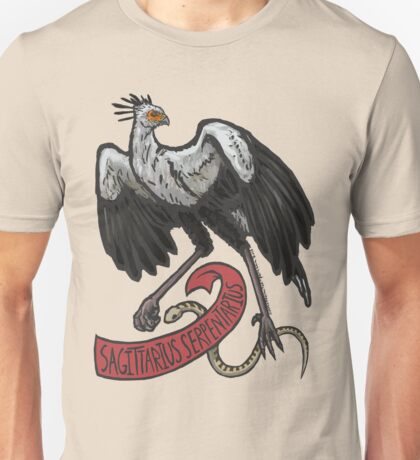Secretary Bird Unisex T-Shirt