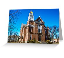 Chouteau County (Montana) Court House Greeting Card