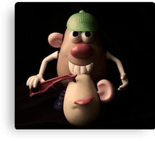 mr potato head,,,,, Canvas Print