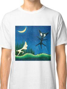 Black Cat White Cat Classic T-Shirt