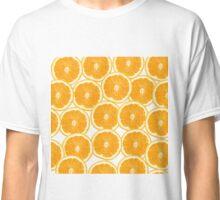 Summer Citrus Orange Slices Classic T-Shirt